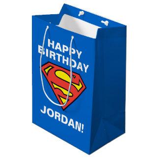 Superman S-Shield | Superman Logo Medium Gift Bag