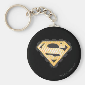 Superman S-Shield | Tan Logo Key Ring