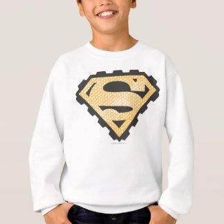 Superman S-Shield | Tan Logo Sweatshirt