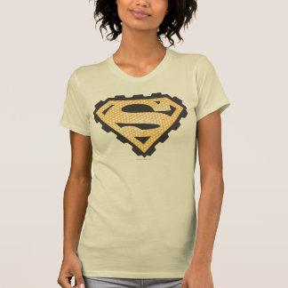 Superman S-Shield   Tan Logo T-Shirt