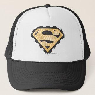 Superman S-Shield | Tan Logo Trucker Hat
