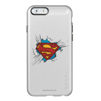 Superman S-Shield | Within Clouds Logo Incipio Feather® Shine iPhone 6 Case