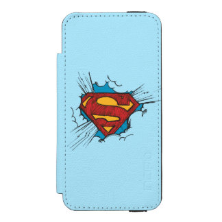 Superman S-Shield | Within Clouds Logo Incipio Watson™ iPhone 5 Wallet Case