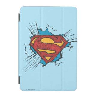 Superman S-Shield | Within Clouds Logo iPad Mini Cover