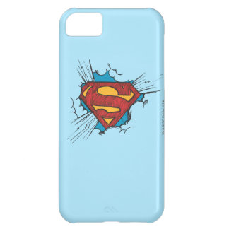 Superman S-Shield | Within Clouds Logo iPhone 5C Case