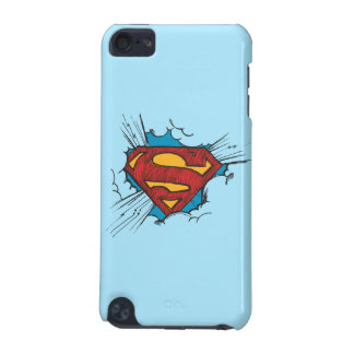 Superman S-Shield | Within Clouds Logo iPod Touch (5th Generation) Case