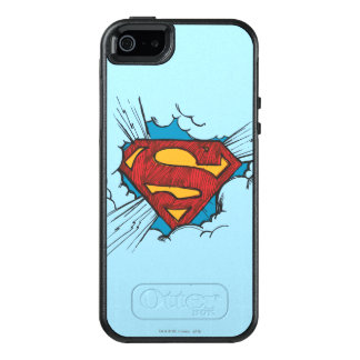 Superman S-Shield | Within Clouds Logo OtterBox iPhone 5/5s/SE Case