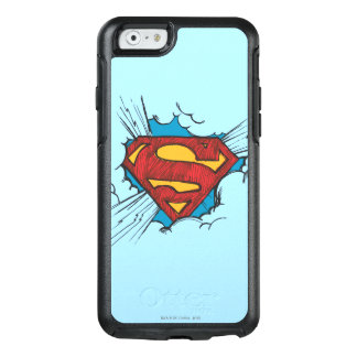 Superman S-Shield | Within Clouds Logo OtterBox iPhone 6/6s Case