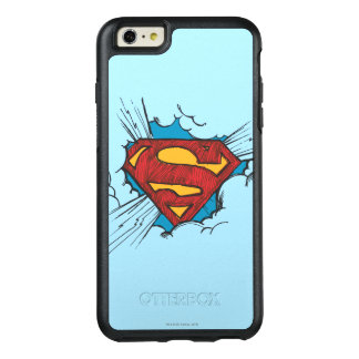 Superman S-Shield | Within Clouds Logo OtterBox iPhone 6/6s Plus Case