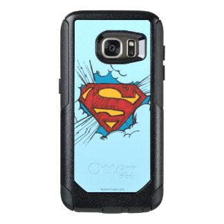 Superman S-Shield | Within Clouds Logo OtterBox Samsung Galaxy S7 Case