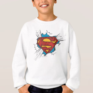 Superman S-Shield | Within Clouds Logo Sweatshirt