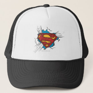 Superman S-Shield | Within Clouds Logo Trucker Hat