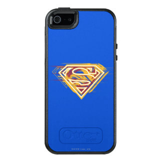 Superman S-Shield | Yellow and Red Logo OtterBox iPhone 5/5s/SE Case