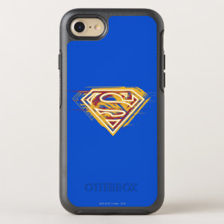 Superman S-Shield | Yellow and Red Logo OtterBox Symmetry iPhone 8/7 Case