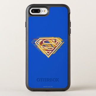 Superman S-Shield | Yellow and Red Logo OtterBox Symmetry iPhone 8 Plus/7 Plus Case