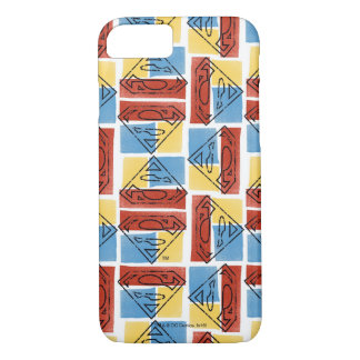 Superman Shield with Colors iPhone 8/7 Case