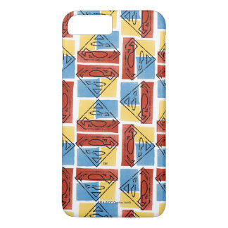 Superman Shield with Colors iPhone 8 Plus/7 Plus Case