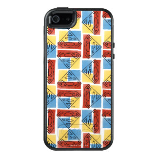 Superman Shield with Colors OtterBox iPhone 5/5s/SE Case