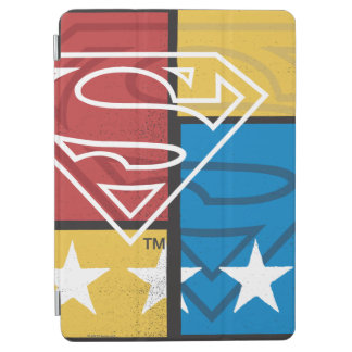 Superman Shield with Stars iPad Air Cover