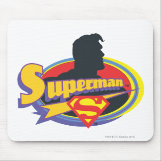 Superman Silhouette Mouse Mat