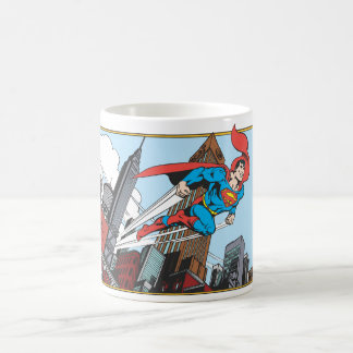 Superman & Skyscrapers Coffee Mug
