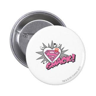 Superman - Smack 6 Cm Round Badge