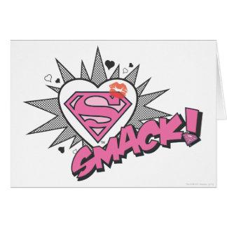 Superman - Smack Greeting Card