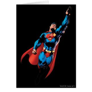 Superman Soars Card