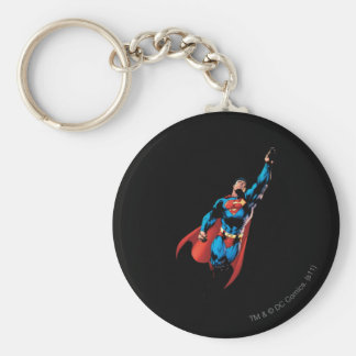 Superman Soars Key Ring