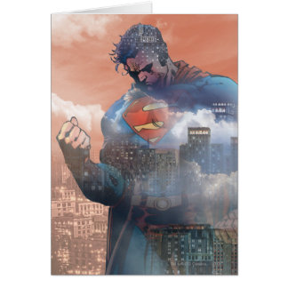 Superman Standing Greeting Card