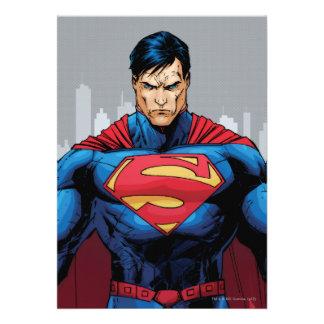 Superman Standing Invites
