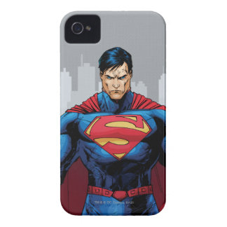Superman Standing iPhone 4 Case-Mate Case