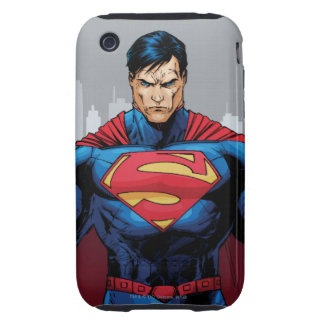 Superman Standing Tough iPhone 3 Covers