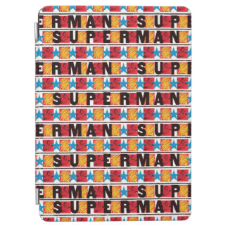 Superman & Star Pattern iPad Air Cover