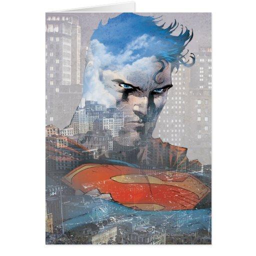 Superman Stare Greeting Card