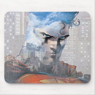 Superman Stare Mouse Mat