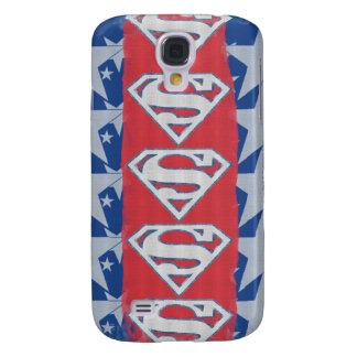 Superman Stars and Logo Galaxy S4 Case