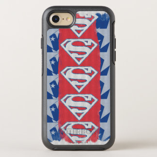 Superman Stars and Logo OtterBox Symmetry iPhone 8/7 Case