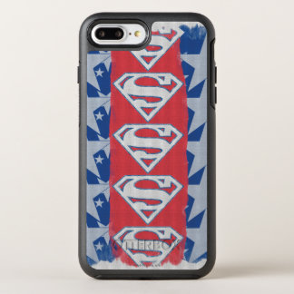 Superman Stars and Logo OtterBox Symmetry iPhone 8 Plus/7 Plus Case