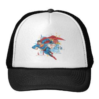 Superman - Stop Evil Mesh Hat