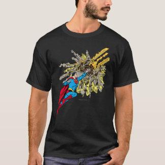 Superman Stops a meteor T-Shirt