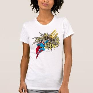 Superman Stops a meteor Shirts
