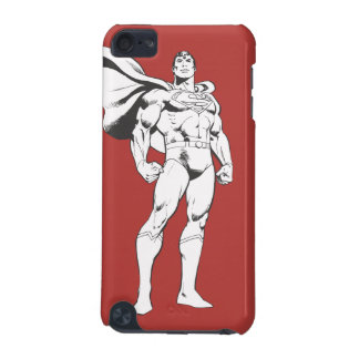 Superman Strikes a Pose iPod Touch 5G Covers