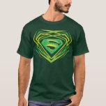 Superman Stylised | Green Decorative Logo T-Shirt