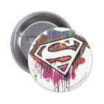 Superman Stylised | Twisted Innocence Logo 6 Cm Round Badge