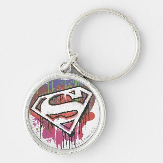 Superman Stylised | Twisted Innocence Logo Key Ring
