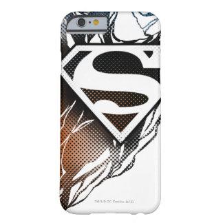 Superman Stylized | Blue OrangeLogo Barely There iPhone 6 Case