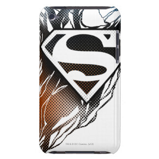 Superman Stylized | Blue OrangeLogo Barely There iPod Covers