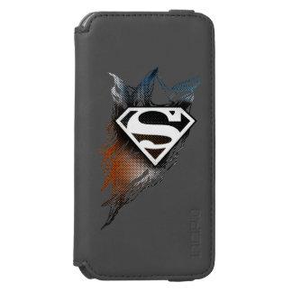 Superman Stylized | Blue OrangeLogo Incipio Watson™ iPhone 6 Wallet Case