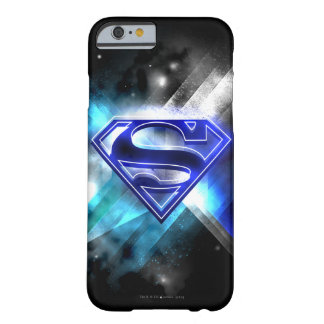 Superman Stylized | Blue White Crystal Logo Barely There iPhone 6 Case